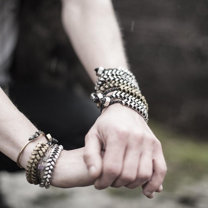 Skin&bones accessoarer;  Startades av Malin och Marie 2010. Fokus ligger främst på smycken men även väskor och inredningsdetajer tillverkas för hand i ateljén på Koopmansgatan i Majorna. (Foto À la London)