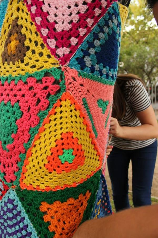 Installation av Lana Attack. (Foto Lana Attack)