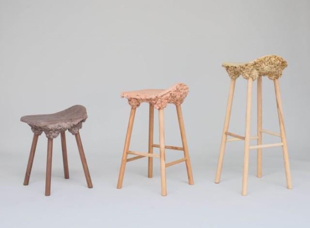 Marjan Van Aubel, Well Proven Chair, i utställningen Earth Matters på Artipelag just nu. (Foto Jean-Baptiste Beranger)