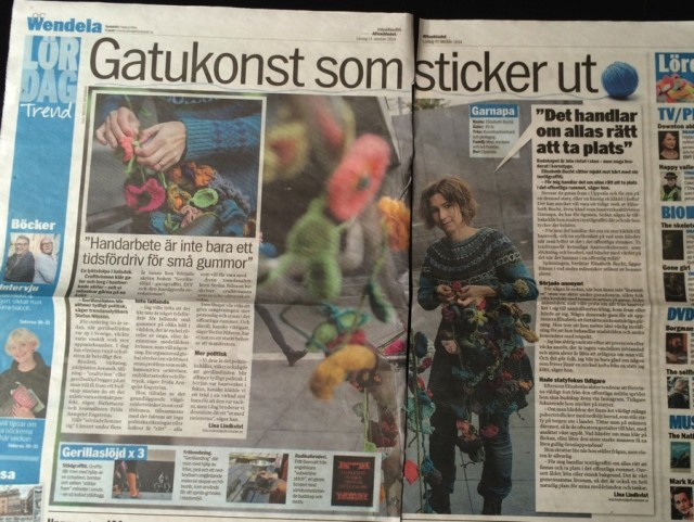Gerillaslöjd i Aftonbladet