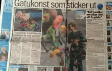 Aftonbladet: Gatukonst som sticker ut