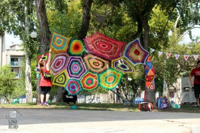 Lana Attack deltog vid Festival Chile Incondicional tidigare i vår. (Foto Lana Attack)