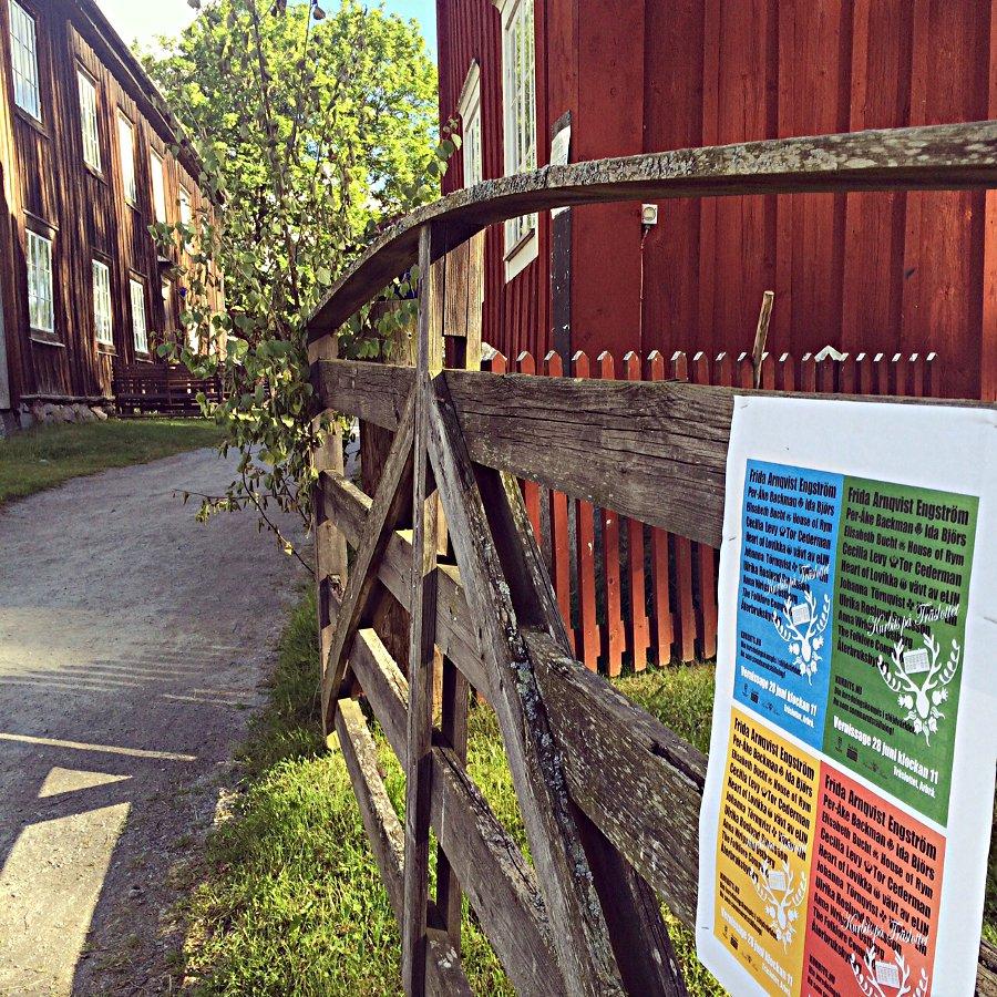 Utställningen Kurbits på Träslottet finns att se fram till 16 augusti, välkomna! (Foto Kurbits)