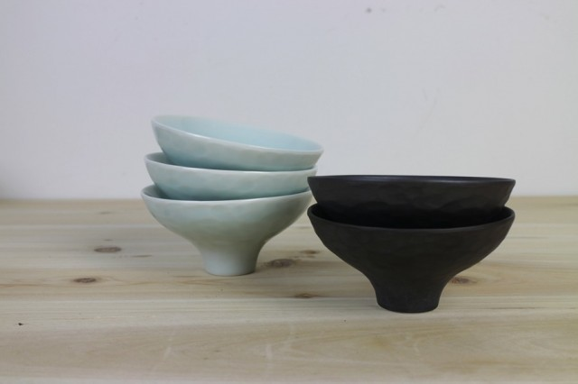 Keramik av Wei Frissia Cai på Stockholm Craft Fair. (Foto Pengfei)