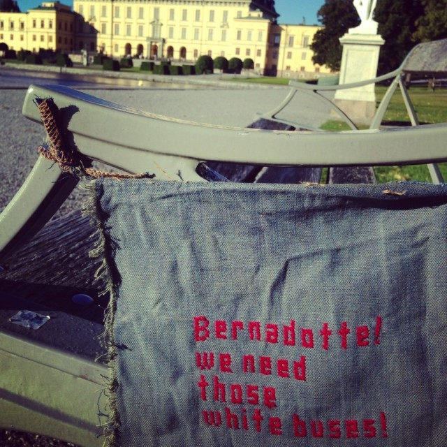 Lisa Halldén, Stitch for us, denna tagg sattes upp och lades ut på stitchforus instagramkonto igår. (Foto Lisa Halldén)