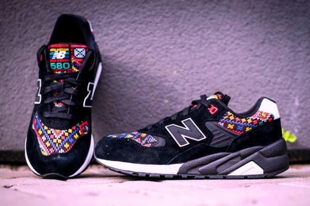 Och en sista... fantastiska sneakers från Nayarit, Mexiko. Foto María Isidra Vargas)