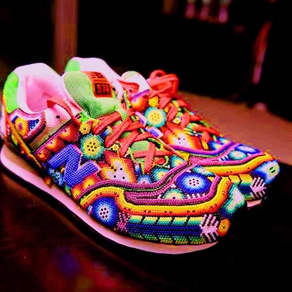 Sneakers från Nayarit. (Foto María Isidra Vargas)