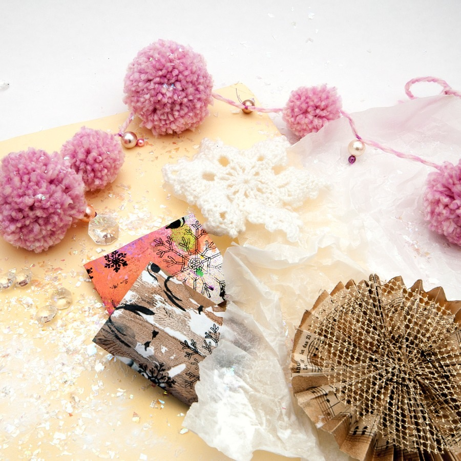 Christmas Craft Bonanza, med The Craft Lab - fyra workshops med jultema. (Foto Stina Axelsson)