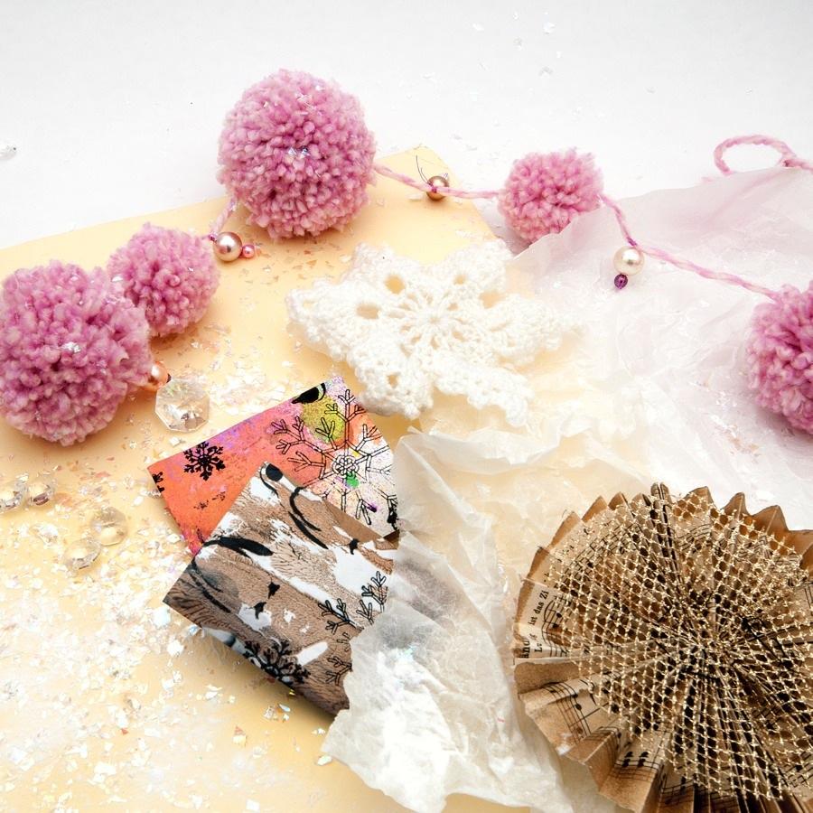 Christmas Craft Bonanza, med The Craft Lab - fyra workshops med jultema. (Foto Stina Axelsson)