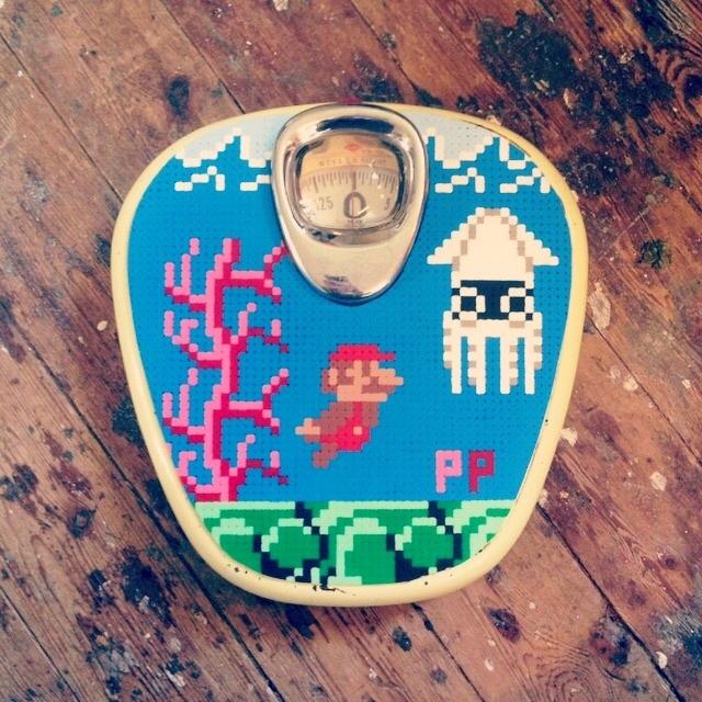 Pappas pärlor! Denna pärla bland pärlare, jag följer Johans pärlprojekt på instagram, ett av mina favoritkonton. På Á la London finns han på riktigt! (Foto À la London)