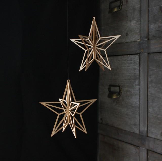 Valonas mobilmoduler görs också i singelhängformer så som stjärnor som här. (Foto Elina Mäntylä)