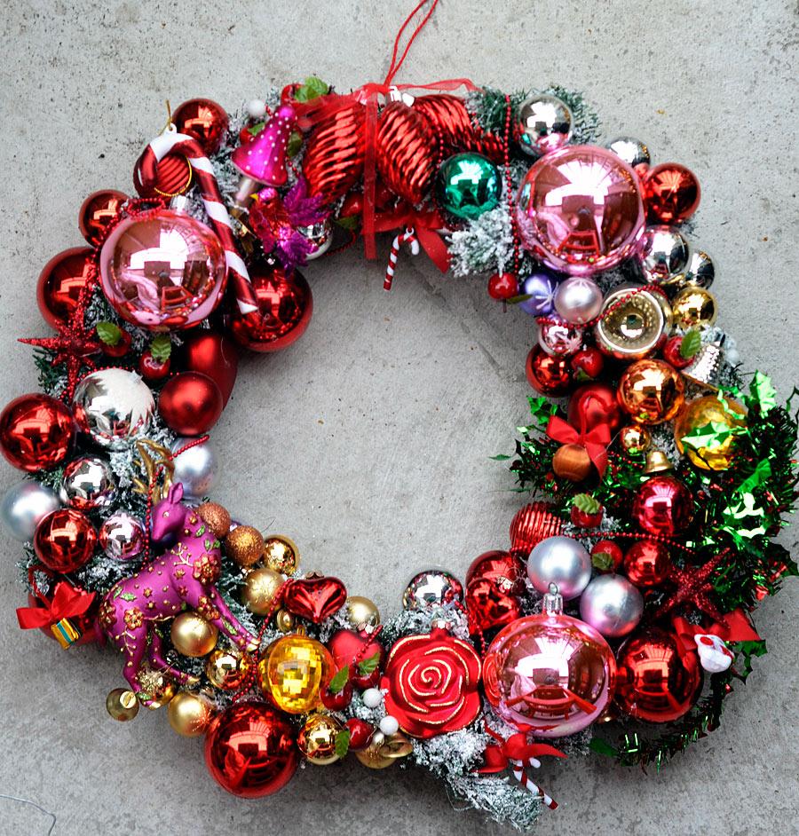 Här i sin helhet. Julpynt som ger julstämning, god jul! (Foto Kurbits)