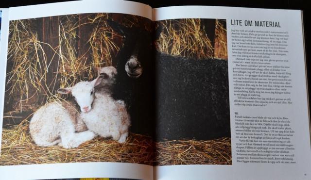 Grundligt. En ingång i materialet finns med i boken, ull, alpacka och lin används i Sticka sjalar, halsdukar och lite till av Erika Åberg. (Foto Kurbits)