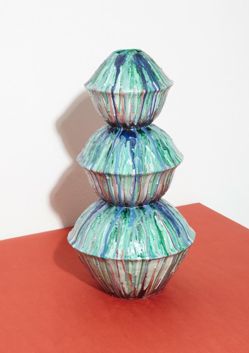 Keramik av Hillda Hellström... (Foto Örnsbergsauktionen)