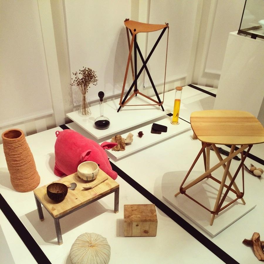 Delar ur  Kristina Schultz Lindbergs verk 100 dagar av behov och begär finns med, liksom verk av designgruppen Lith Lith. (Foto Kurbits)