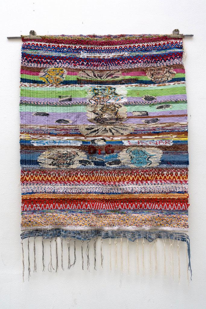 På Konstfack textil finns Josefin Gäfvert, kolla in henne! (Foto Josefin Gäfvert)