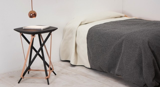 Lith Lith Lundin tillverkar möbler med material och förädling inom en femmilaradie från Torsås, där de verkar. På tisdag är de våra åttonde Form&frukost-gäster. (Foto Monoqi)