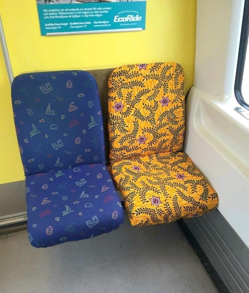 Veckans snackis avslöjad: här är tygtaggaren i tunnelbanan