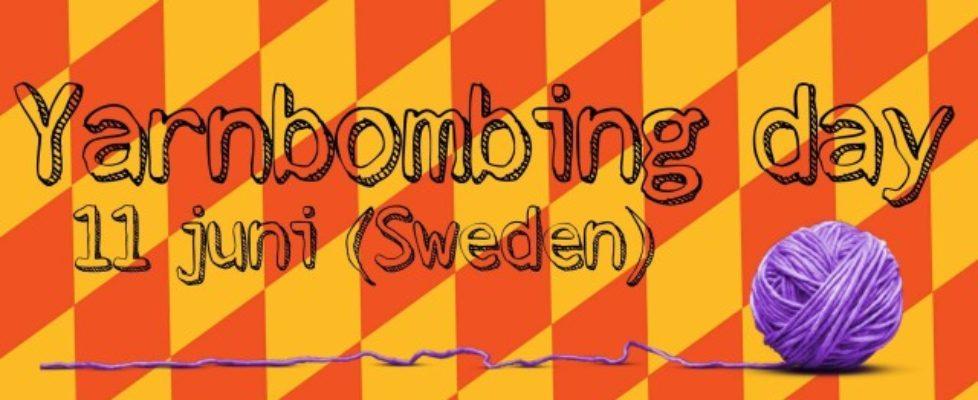 International Yarnbombing Day – lördag 11 juni!