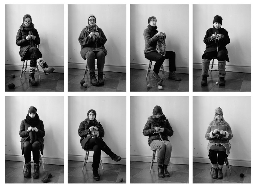 De medverkande konstnärerna är: Anna Lindkvist Adolfsson, Carina Bergholm, Inger Bergström, Frida Berntsson, Margareta Danhard, Catarina W. Källström, Anna Sjons Nilsson och Maria Wahlgren. (Foto FAS)