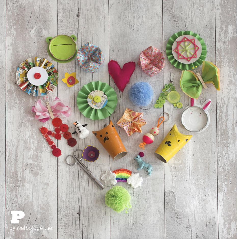 Var med i Pysselbolagets projekt #pysslaförvärldensbarn - gör en egen sparbössa. (Foto Karin Schäefer)