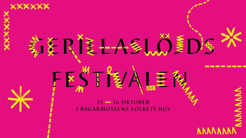 Välkommen till Gerillaslöjdsfestivalen – den första i sitt slag!