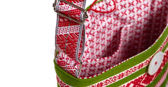 Inspirerande vackert – sy väskor!