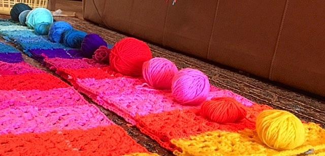 Yarnbombing_pr på gatukonstfestivalen Ponce es Ley