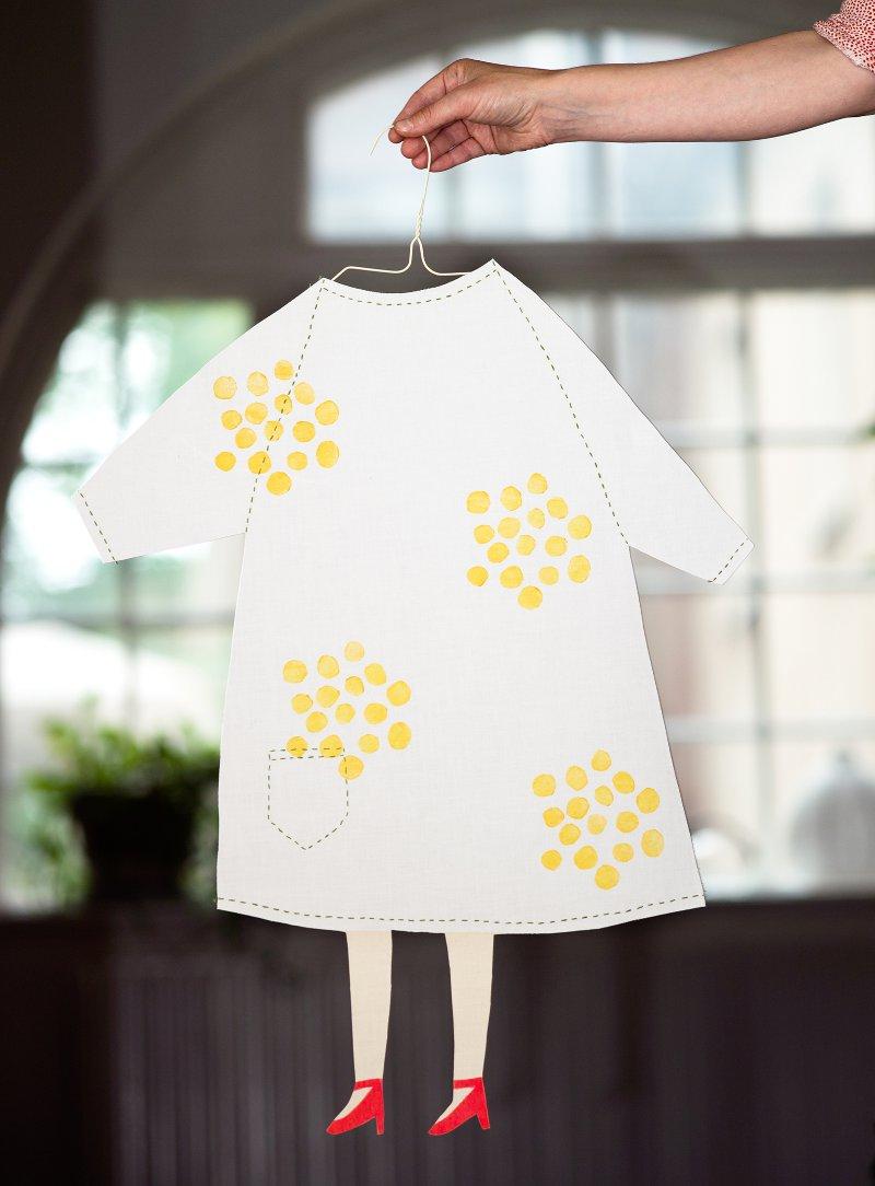 Renfana, mönster till textil, i det pågående projektet Kurbitsfrön och Rosengångar. (Foto RoeraadeBryggare)