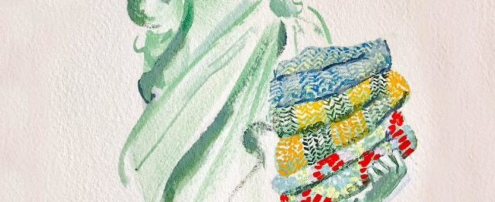 Nytt från Pussyhatrörelsen: The Welcome Blanket Project
