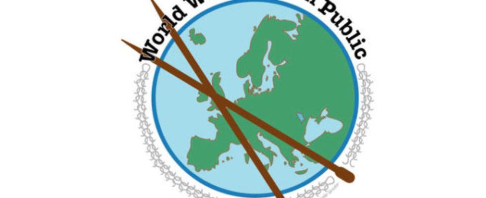 Glad världsstickningsdag! Imorgon är det World Wide Knit in Public Day!