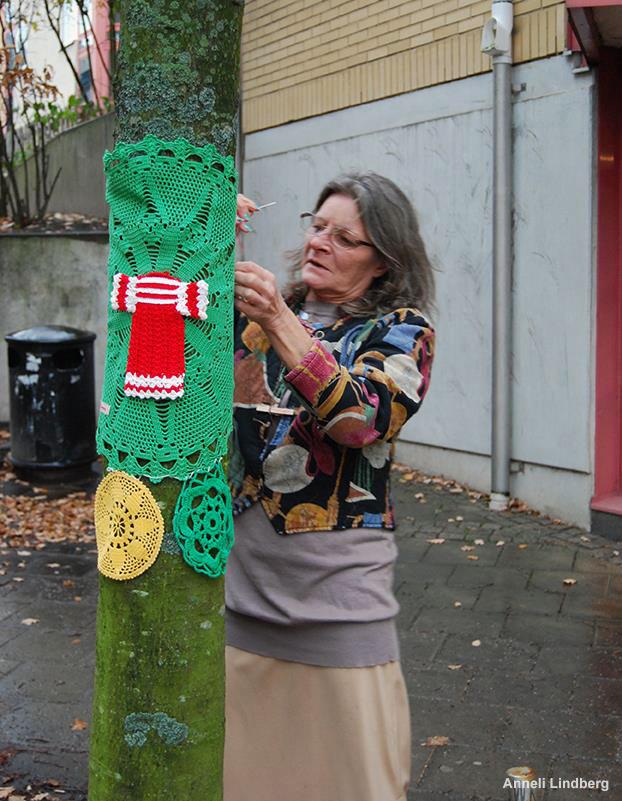 Projektet engagerar kvinnor i nätverket Hemma. (Foto Anneli Lindberg)