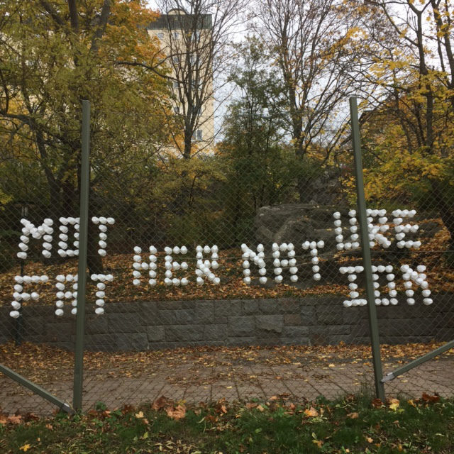 Mother nature, father nation - en kommentar till #metoo, av Patrik Qvist. (Foto Patrik Qvist)
