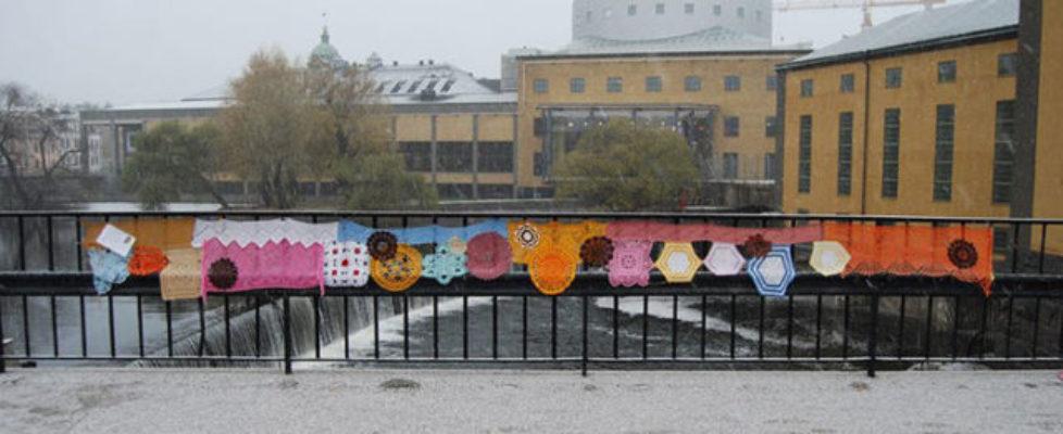 Kolla in! Husmorsgraffitin tar över i Norrköping!
