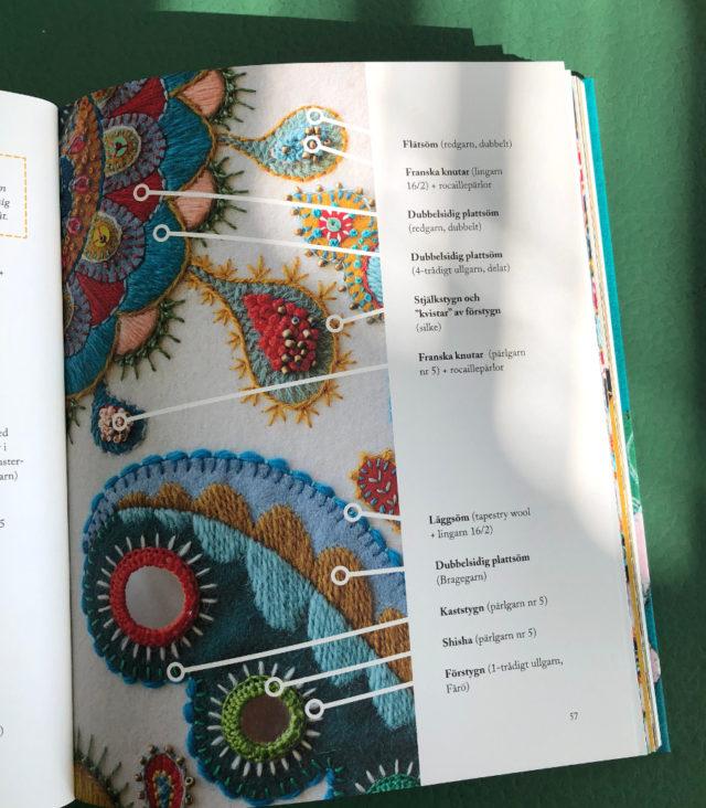 Handfasta tips varvas med inspiration - här visar Karin Derland vilka stygn och vilket garn som använts var för att uppnå just effekter som dessa. (Foto Kurbits)