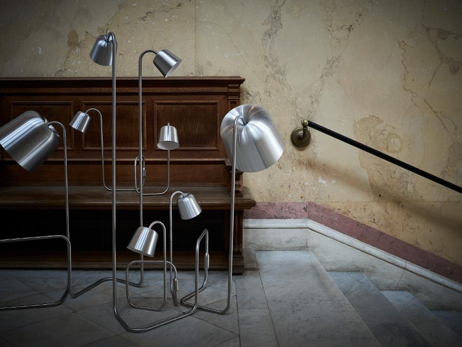 """Lampor, NM& 015 """"Mela"""" av Matti Klenell tillsammans med Ateljé Lyktan. (Foto Pia Ulin)"""