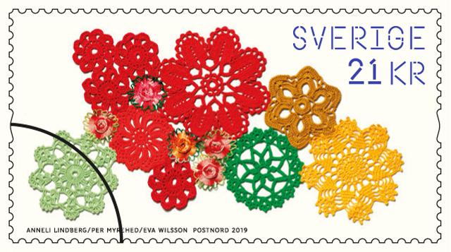 Slöjdkraft: Här är Postnords nya frimärken!