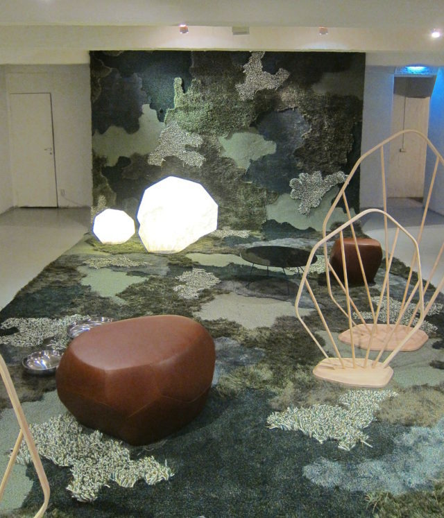 Understory, Louise Hederströms utställning på Designgalleriet under året. (Foto Kurbits)