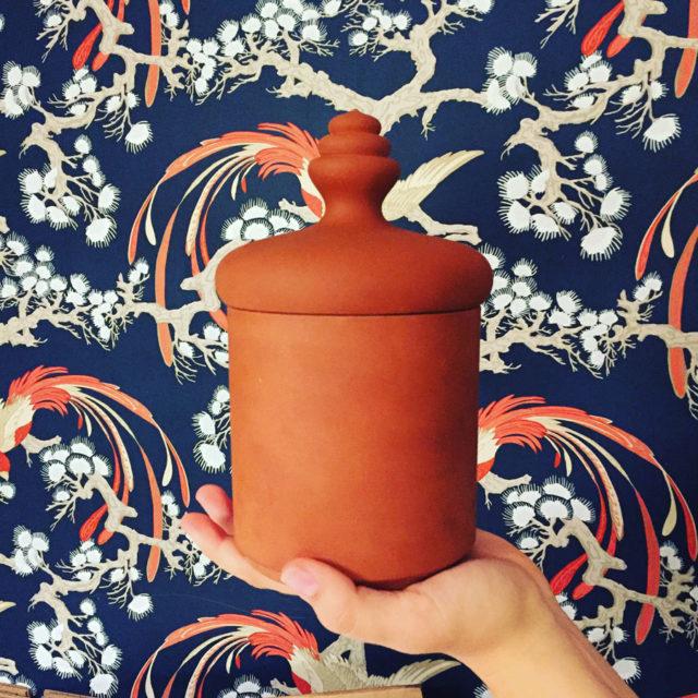 Katia Colt, nominerad till Formex Formidable-priset för sin keramik, helt rätt i tiden. (Foto Formex)