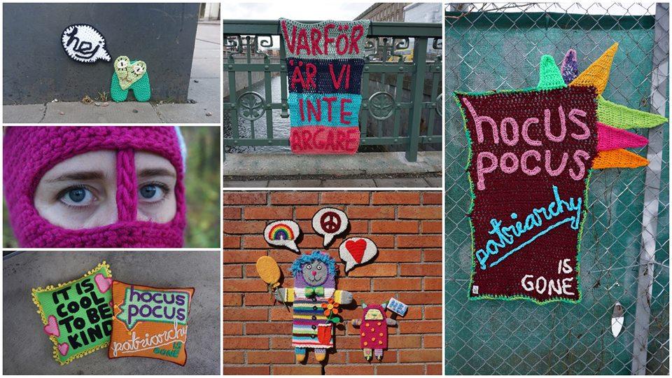 Maria Yvell, @virkadygnetrunt är aktuell med en utställning på Högkultur - Scen och konst i Högdalen, öppet i helgen! (Foto Maria Yvell)