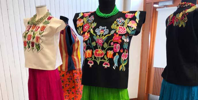 Huipil: textila likheter mellan skånskt och mexikanskt hantverk