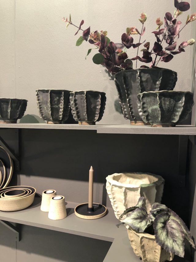 En rolig ny bekantskap med spännande keramik från Ljungbyljung keramik. (Foto Kurbits)