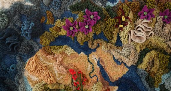 Portugisiska Vanessa Barragão väcker tankar om planeten i ull