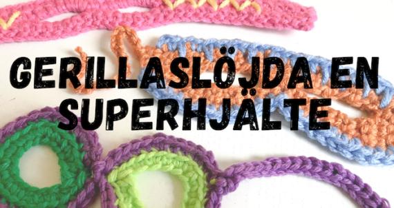 Gerillaslöjda superhjältar i kampen mot barncancer